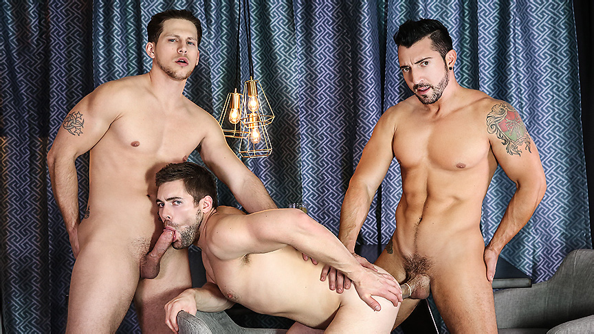 Griffin Barrows & Master Sword Durano & Roman Todd In Heartbreakers Section 1 – Drillmyhole