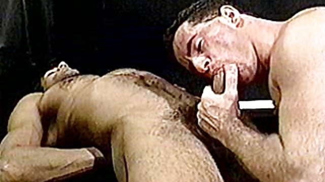Homosexual Muscle Hairy Men Grappling