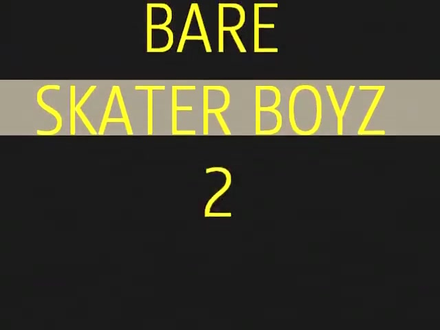 Naked Skater Boyz Two Keen To Showcase All